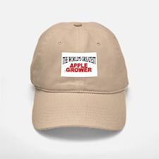 """""""The World's Greatest Apple Grower"""" Baseball Baseball Cap"""