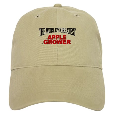 """The World's Greatest Apple Grower"" Cap"