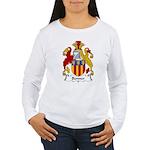 Bonner Family Crest Women's Long Sleeve T-Shirt