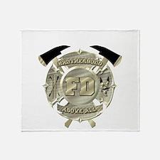 BrotherHood fire service 2 Throw Blanket