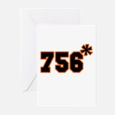 756 Asterisk Greeting Cards (Pk of 10)