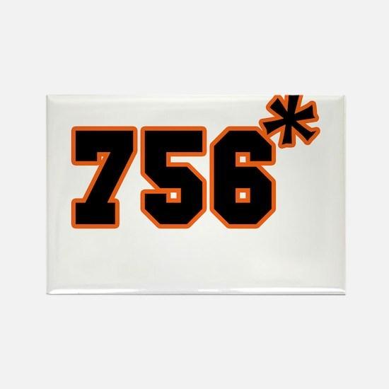 756 Asterisk Rectangle Magnet
