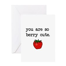 Berry Cute Greeting Cards