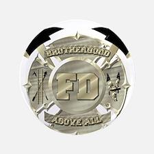 """BrotherHood fire service 2 3.5"""" Button (100 pack)"""