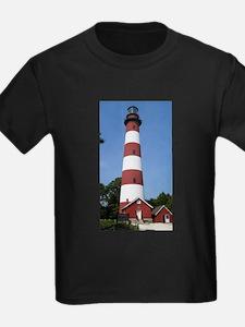 Asateague lighthouse (bright) T-Shirt