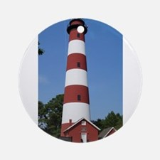 Asateague lighthouse (bright) Ornament (Round)
