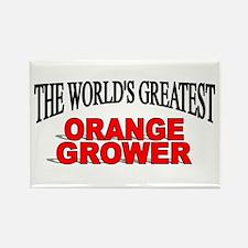 """The World's Greatest Orange Grower"" Rectangle Mag"
