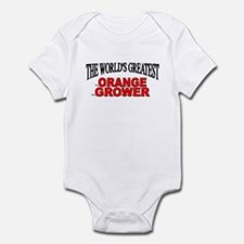 """The World's Greatest Orange Grower"" Infant Bodysu"
