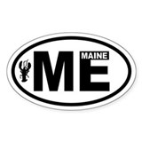 Maine Stickers & Flair