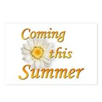 Coming this Summer Postcards (Package of 8)