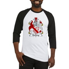 Bocking Family Crest Baseball Jersey