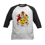 Blood Family Crest Kids Baseball Jersey
