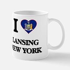 I love Lansing New York Mug