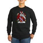 Blisse Family Crest Long Sleeve Dark T-Shirt