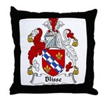 Blisse Family Crest Throw Pillow