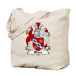 Blisse Family Crest Tote Bag