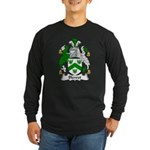 Blewet Family Crest Long Sleeve Dark T-Shirt