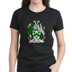 Blewet Family Crest Women's Dark T-Shirt