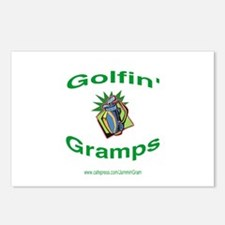 Golfin' Gramps Postcards (Package of 8)