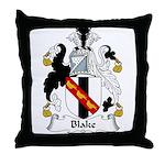 Blake Family Crest Throw Pillow