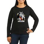 Blake Family Crest Women's Long Sleeve Dark T-Shir