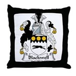 Blackwell Family Crest  Throw Pillow
