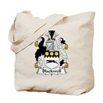 Blackwell Family Crest  Tote Bag
