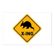 Aardvark X-ing Postcards (Package of 8)