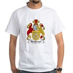 Blackman Family Crest White T-Shirt