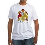 Blackman Family Crest Fitted T-Shirt