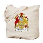 Blackman Family Crest Tote Bag
