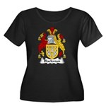 Blackman Family Crest Women's Plus Size Scoop Neck