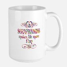 Scrapbooking More Fun Mug
