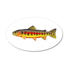 Golden Trout Wall Decal