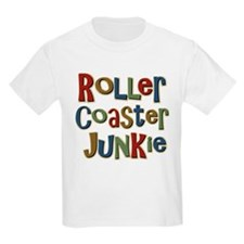 Roller Coaster Junkie Fanatic T-Shirt