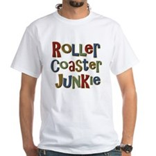 Roller Coaster Junkie Fanatic Shirt