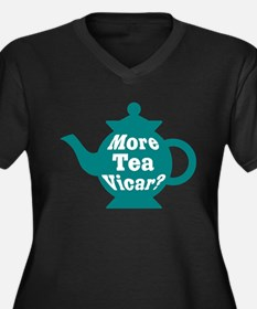 Teapot - More tea Vicar? Plus Size T-Shirt