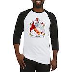 Bishop Family Crest Baseball Jersey