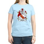 Bishop Family Crest Women's Light T-Shirt