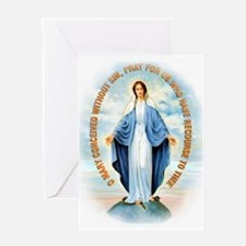 Miraculous Medal Greeting Card
