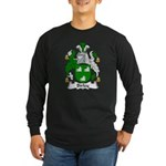 Birley Family Crest Long Sleeve Dark T-Shirt