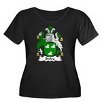 Birley Family Crest  Women's Plus Size Scoop Neck
