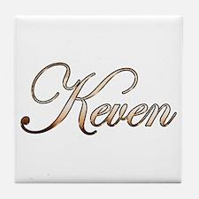 Gold Keven Tile Coaster