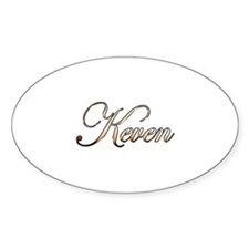 Gold Keven Decal