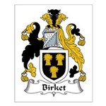 Birket Family Crest Small Poster