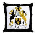 Birket Family Crest Throw Pillow