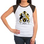Birket Family Crest Women's Cap Sleeve T-Shirt