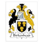 Birkenhead Family Crest Small Poster
