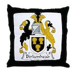 Birkenhead Family Crest Throw Pillow