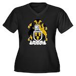 Birkenhead Family Crest Women's Plus Size V-Neck D